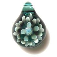 [MCN-26] mini clear flower pendant