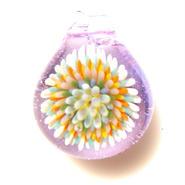 [MCCF-12]mini cute clear flower pendant