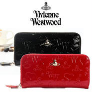 Vivienne Westwood ヴィヴィアンウエストウッド財布 長財布 レザー [VW-08]