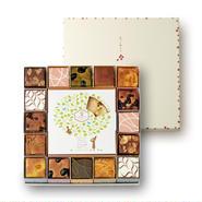 【爽やかなライムの香り!】岐阜県産はちみつバウムクーヘン ライムの彩&奏でる積み木16個セット