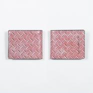 鉄板 二つ折り財布