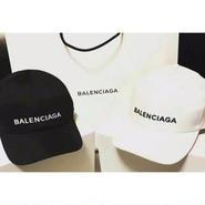 バレンシアガ 刺繍キャップ 帽子 調節可 男女兼用