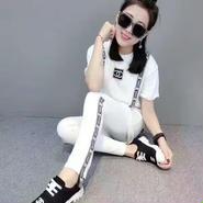 シャネル/CHANEL お勧め美品 超人気 上下セットアップ(Tシャツパンツ)   EXSC0575