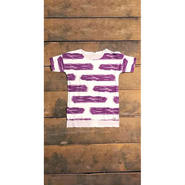 「BORDERLESS® T-Shirt」Grape, ICAL556®
