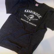 """KAMINOGE WRESTLING MAGAZINE"" tee-shirt (heather-black)"