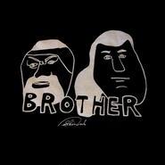 """SHINSUKE NAKAMURA """"BROTHER """" tee-shirt (sumo-black)ステッカー付"""