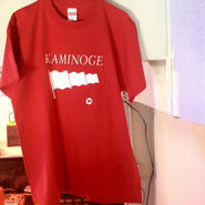 """KAMINOGE"" tee-shirt (high-red)"