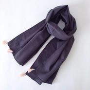 tassel stole(dark gray)
