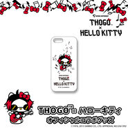 THOGO×ハローキティ コラボ iPhone 5s ケース(白)