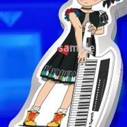 中村ピアノ「アクリルキーホルダー」