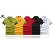 アルマーニ新品 半袖ポロシャツ 運動適用 多色選択018