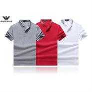 アルマーニ新品 半袖ポロシャツ 3色 夏物024