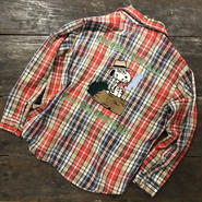 "LOT, STOCK AND BARREL VINTAGE FLANNEL SHIRTS WITH CHAINSTITCHING  ""SPIKE"" 2"