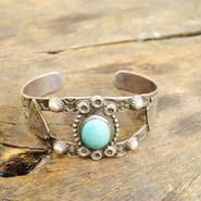 vintage/turquoise bracelet