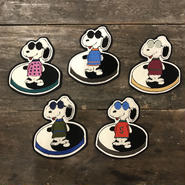 "LOT, STOCK AND BARREL ""YING YANG SNOOPY"" PATCH"