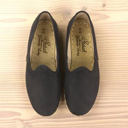 Sabah  (サバ)SLIP-ON nubuck leather BALEEN BLUE