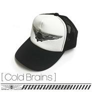 cap [Cold Brains] TMC01-CLB-BW [コールドブレイン:ブラック&ホワイト]