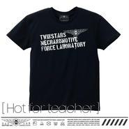 T-shirts [Hot for teacher] TMT01-HFT-BK [ホットフォーティーチャー:ブラック]