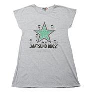 【受注販売】【おそ松さん×SR'ES RAINBOW】 コラボドルマンスリーブワンピース - STAR BROS.