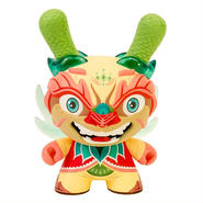 Imperial Lotus Dragon 8 inch Dunny by Scott Tolleson