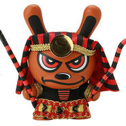 "King Tut - Red 8"" Dunny by Sket-One"