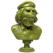 SSUR Rebel Ape Bust: Army Green