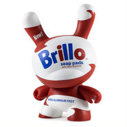 "Warhol 8"" Dunny Masterpiece-Brillo White"
