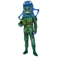 The Astronaut (Blue-Green edition) by Alex Pardee
