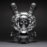 """parallel import / Arcane Divination The Clairvoyant 8"""" Dunny - Silver by J*RYU"""