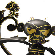 Lava Monkey SDCC 2014 Exclusive by Joe Ledbetter