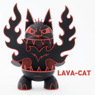 Lava-Cat by Joe Ledbetter