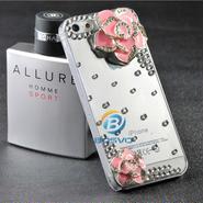 デコレーションiPhone5及び5s用デコレーションケース ローズタイプ