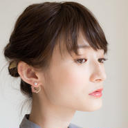 【non-no 6月号掲載】Sally Pierce PINK サリーピアス ピンク