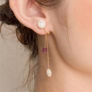 Mie Earring PURPLE ミーイヤリング パープル