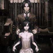 複製原画パネル「屍者の帝国 #001」B5サイズ