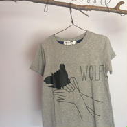 nunu WOLF Tシャツ