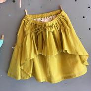 folk  made  ☆ pleated  skirt