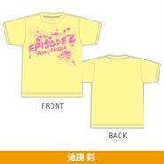 池田 彩 「episode 2」オリジナルTシャツ