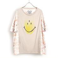 ネイティブ総柄2wayカーデTシャツ