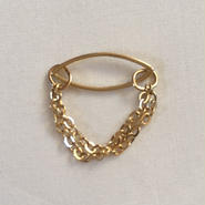 Secret chain ring