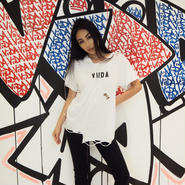 ViiDA クラッシュTee(white)