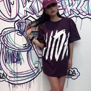 ViiDA  BIG LOGO TEE(purple)