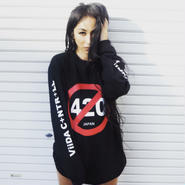 420long sleeve(black)