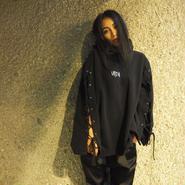 フーディーレース(black)