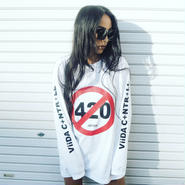 420long sleeve(white)