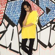 ViiDA LOGO TAPE TEE(yellow)
