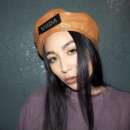 ベレー帽(brown)