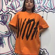 ViiDA  BIG LOGO TEE(orange)