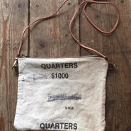 "US Mint Pouch, Black ""Quaters"""