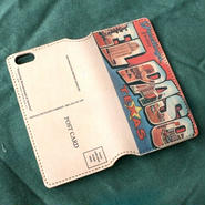 """Pictorial Wonderland of America"" iPhone6/6s Leather Case, ""El Paso"""